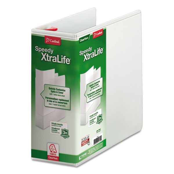 "Cardinal Speedy XtraLife 5"" 3-Ring View Binder"