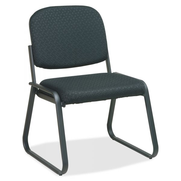 Office Star V4420 Deluxe Sled Base Armless Chair