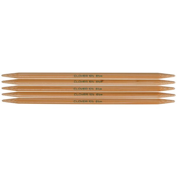 "Takumi Bamboo Double Point Knitting Needles 7"" 5/Pkg"