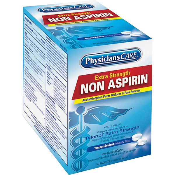 PhysiciansCare Extra Strength Non Aspirin Tablets