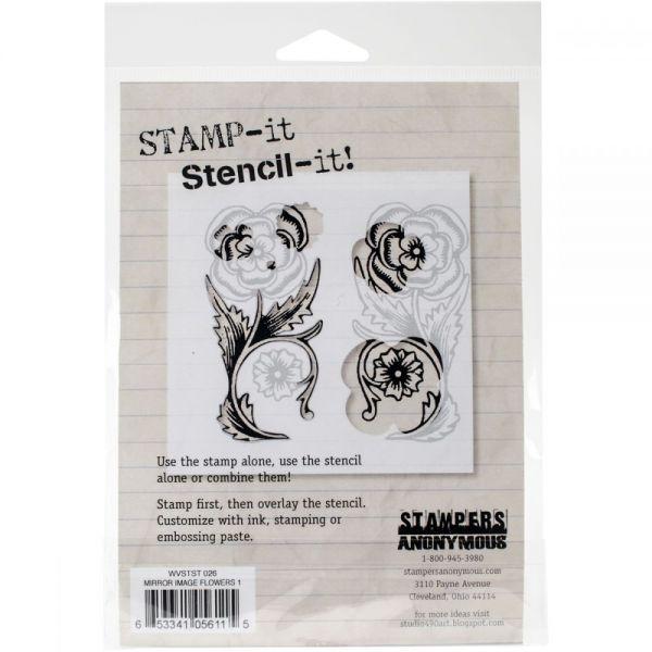 """Studio 490 Stamp It Stencil It 7""""X8.5"""""""