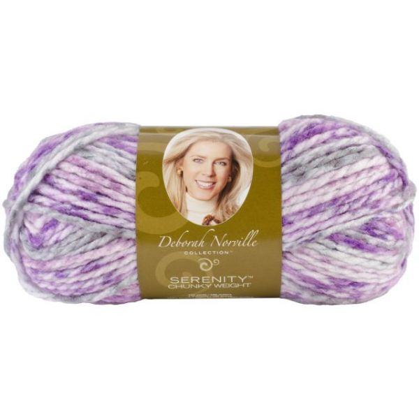 Deborah Norville Collection Serenity Chunky Yarn - Majesty