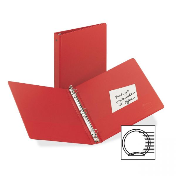 Avery Matte Cover Round Ring Economy Binder