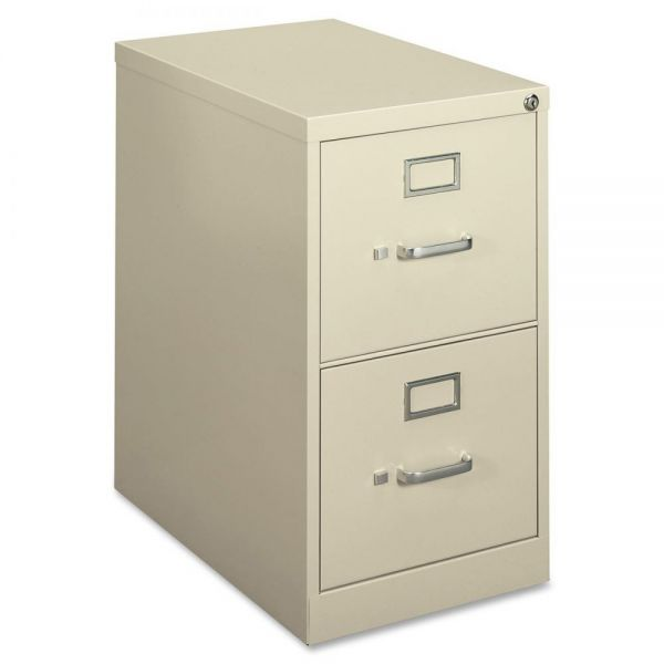 "HON basyx by HON H410 Series Vertical File | 2 Drawers | Letter Width | 22""D"
