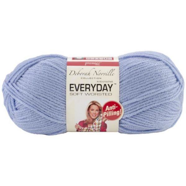 Deborah Norville Collection Everyday Yarn - Baby Blue