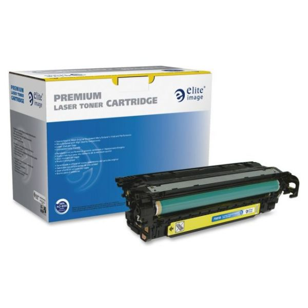 Elite Image Remanufactured HP 507A Yellow Toner Cartridge