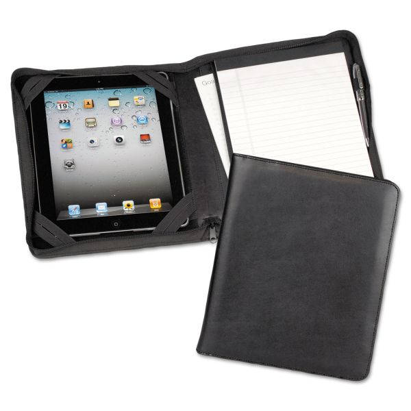 Samsill iPad Zippered Composition Pad Folio