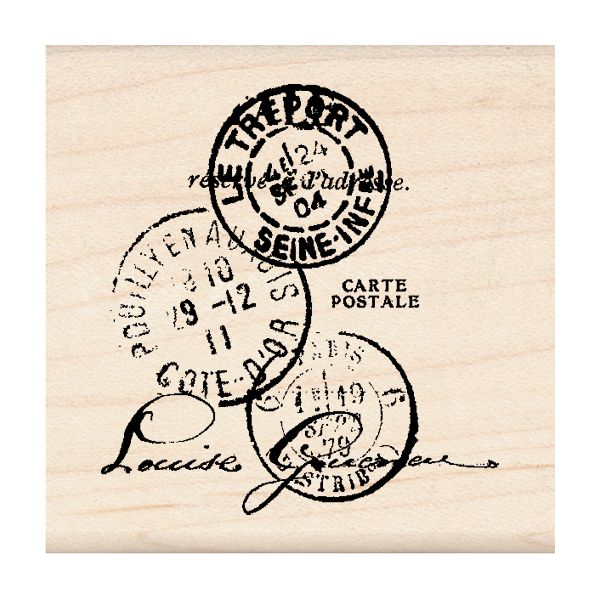 "Inkadinkado Mounted Rubber Stamp 2""X2"""