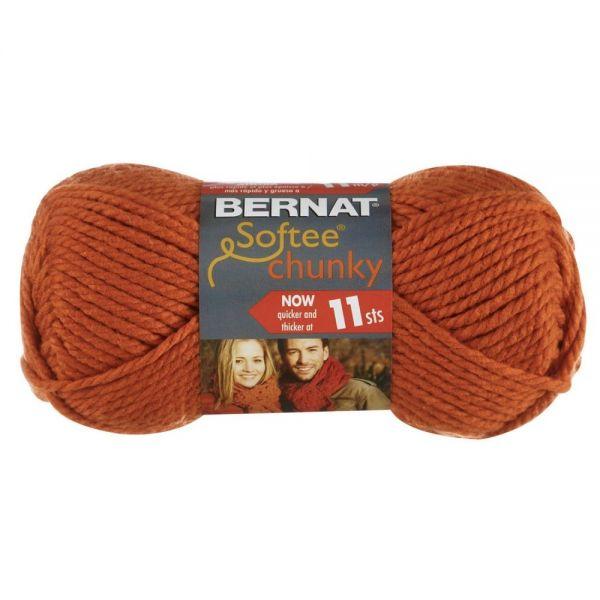 Bernat Softee Chunky Yarn - Pumpkin