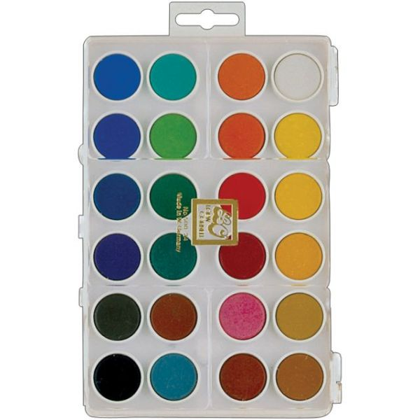 Dry Pan Watercolor Paint Cakes