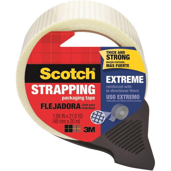 Scotch Extreme Packing Tape with Dispenser