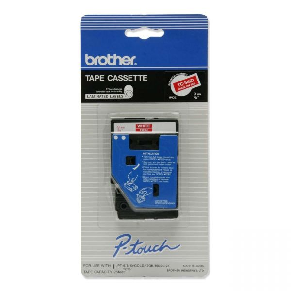 Brother P-Touch TC Standard Label Tape Cartridge