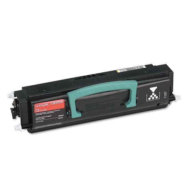 Lexmark 23820SW Black Toner Cartridge