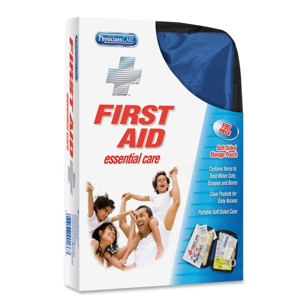 PhysiciansCare by First Aid Only Soft-Sided First Aid Kit for up to 25 People, 195 Pieces/Kit