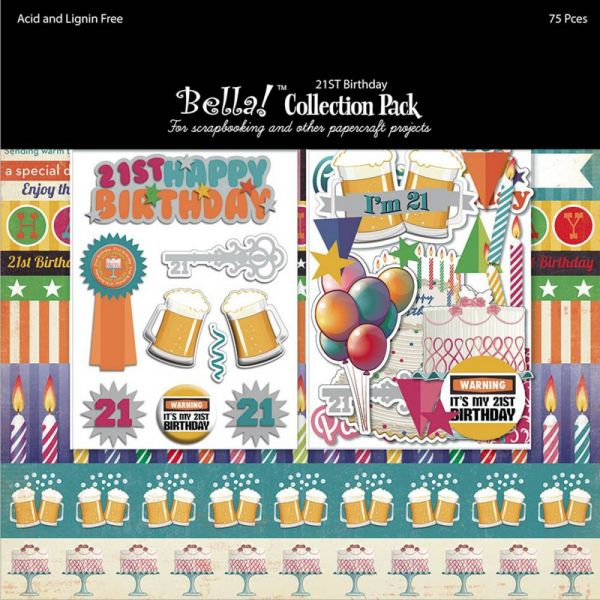 "Bella! Collection Pack 12""X12"""