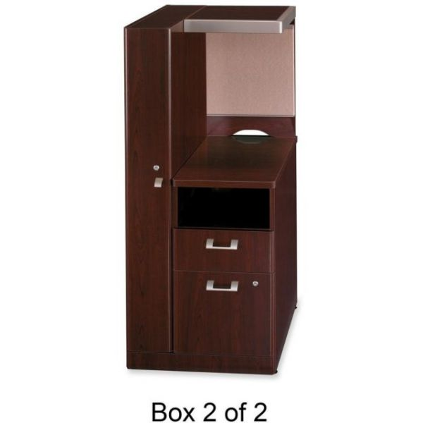 bbf Quantum QT2837CS Left Storage Tower Box 2 of 2 by Bush Furniture