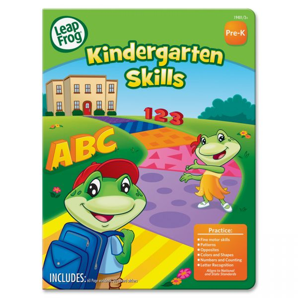 The Board Dudes Kindergarten Skills Activity Workbook Activity Printed Book