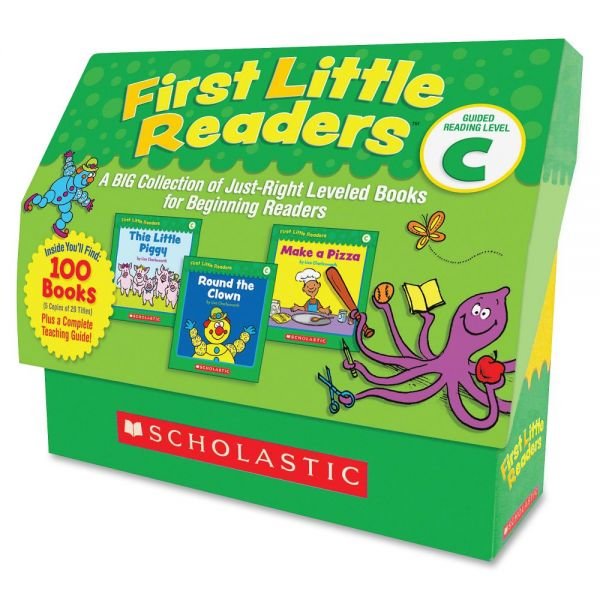 Scholastic Res. Level C 1st Little Readers Book Set Education Printed Book by Liza Charlesworth - English