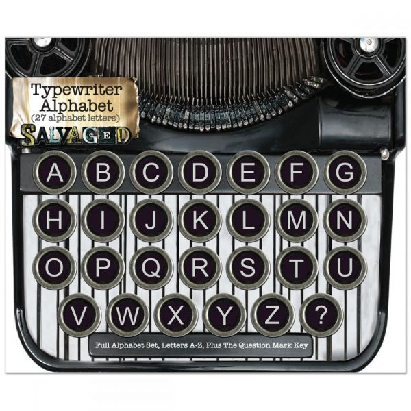 Salvaged Vintage Typewriter Keys