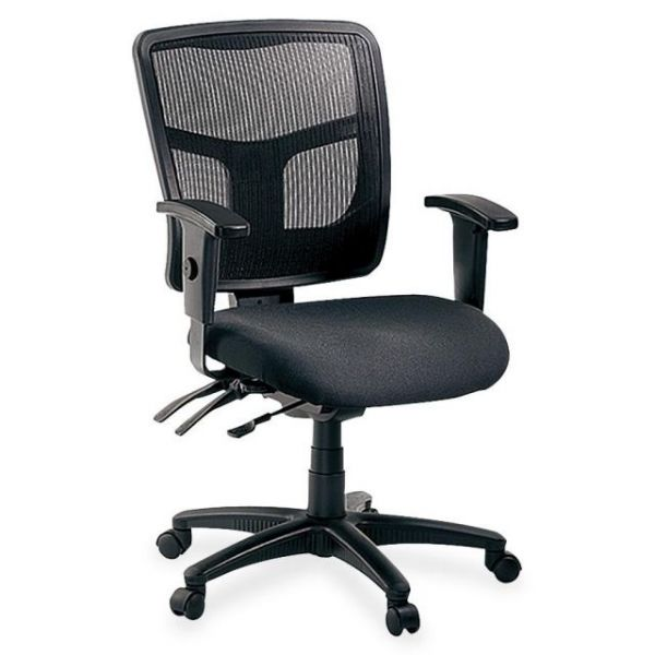 Lorell 86000 Series Managerial Mid-Back Office Chair