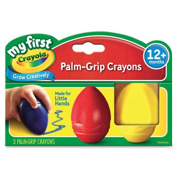 Crayola My First Palm-Grip Crayons