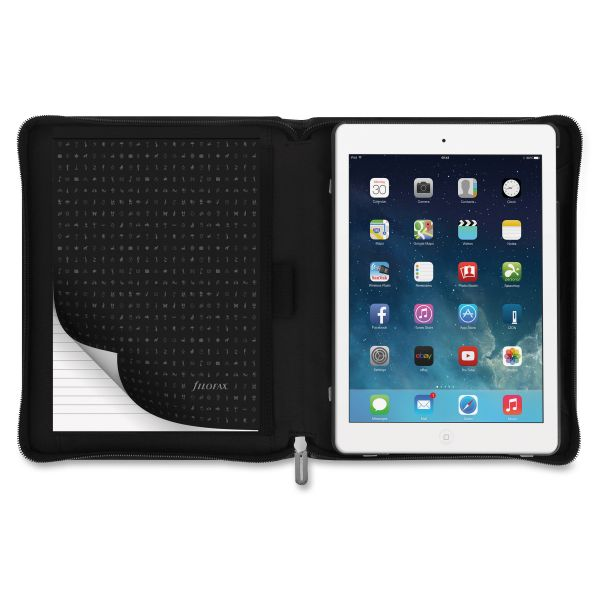 Filofax Microfiber Case for iPad Air 2, Black