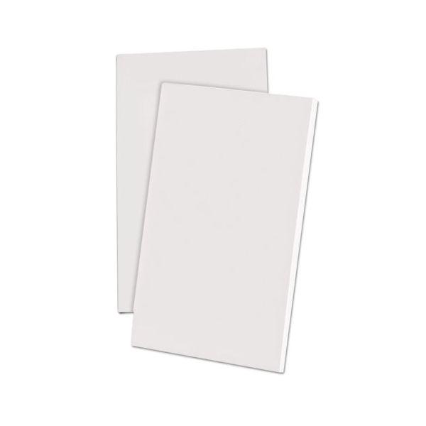 Ampad Scratch Pad Notebook, Unruled, 3 x 5, White, 100 Sheets, Dozen