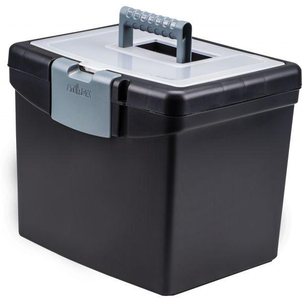 Storex Portable Storage Box