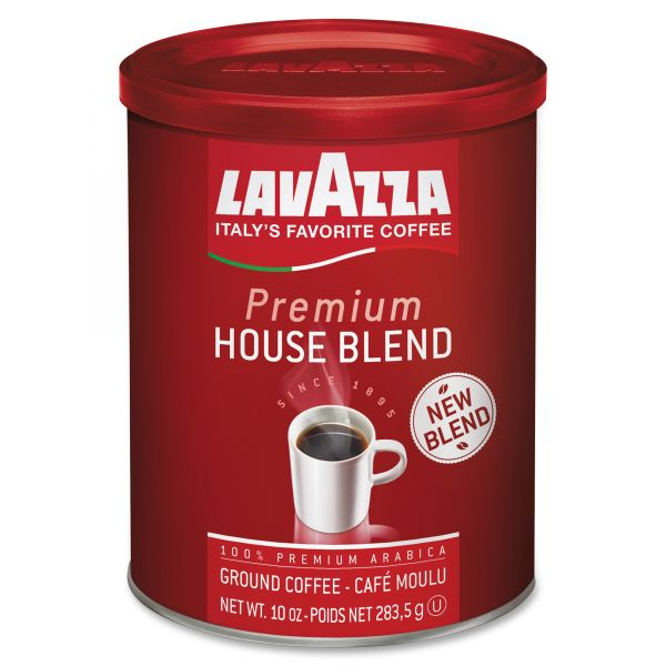 Lavazza Premium House Blend Ground Coffee (5/8 lb)