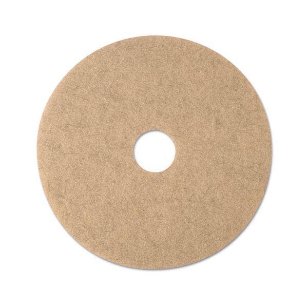 3M Ultra High-Speed Natural Blend Floor Burnishing Pads 3500
