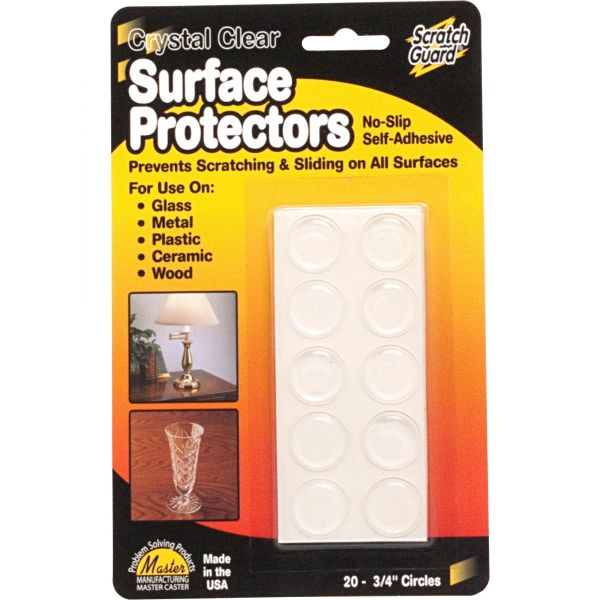 Master Mfg. Co Scratch Guard Surface Protectors, Self-adhesive
