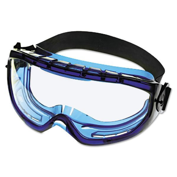 Jackson Safety* V80 Monogoggle XTR, Blue Frame, Clear Lens
