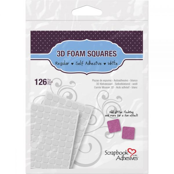 Scrapbook Adhesives 3D Self-Adhesive Foam Squares