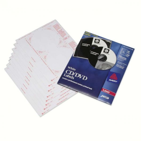SKILCRAFT CD/DVD Label Refill