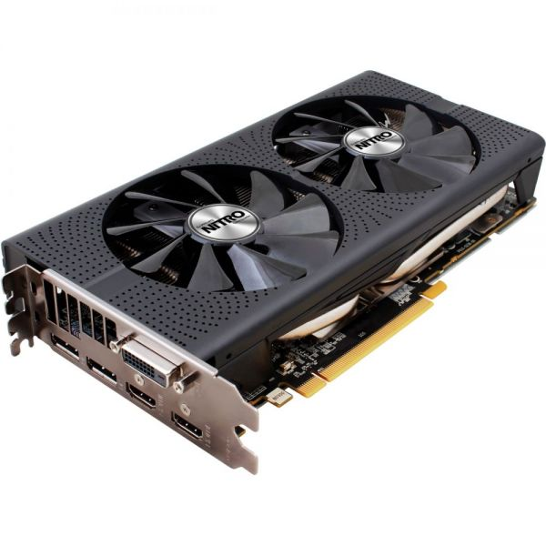 Sapphire NITRO+ Radeon RX 480 Graphic Card - 1.21 GHz Core - 1.34 GHz Boost Clock - 8 GB GDDR5 - PCI Express 3.0 - Dual Slot Space Required