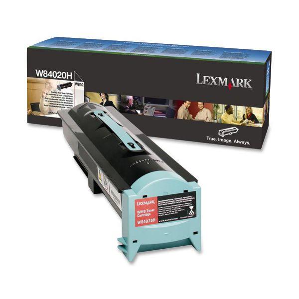 Lexmark W84020H Black High Yield Toner Cartridge