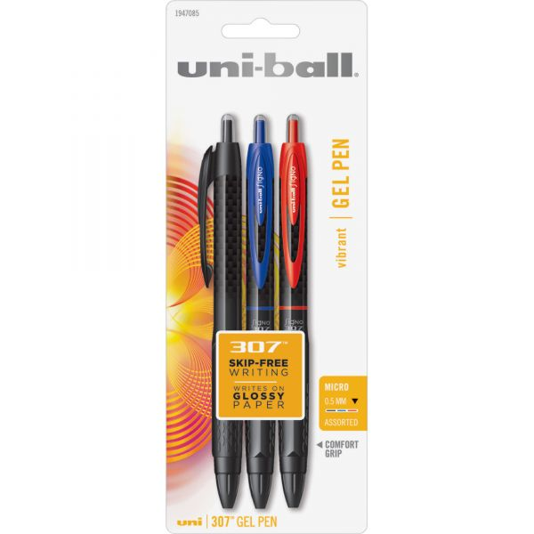 Uni-Ball Signo 307 Retractable Gel Pens