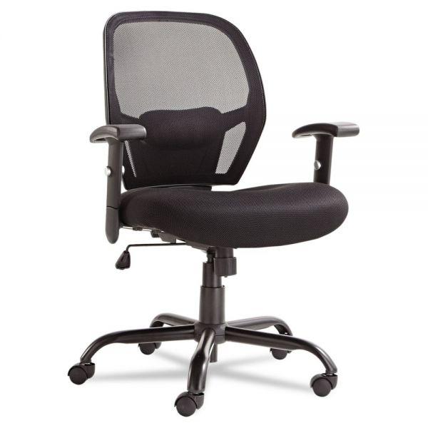 Alera Merix450 Series Mesh Big And Tall Mid-Back Swivel/Tilt Office Chair