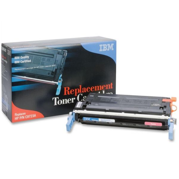 IBM Remanufactured HP C9723A Magenta Toner Cartridge