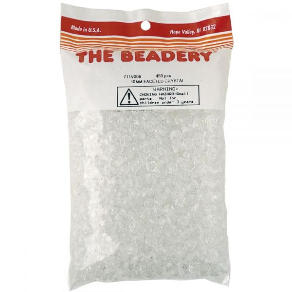 Faceted Beads 10mm 450/Pkg