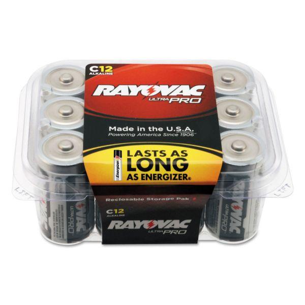 Rayovac Ultra Pro C Batteries