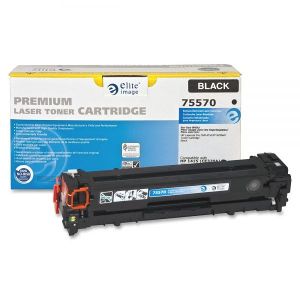 Elite Image Remanufactured HP CE320A Toner Cartridge