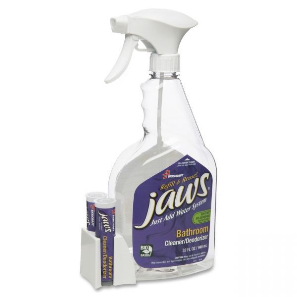 SKILCRAFT JAWS Bathroom Cleaner/Deodorizer Kit