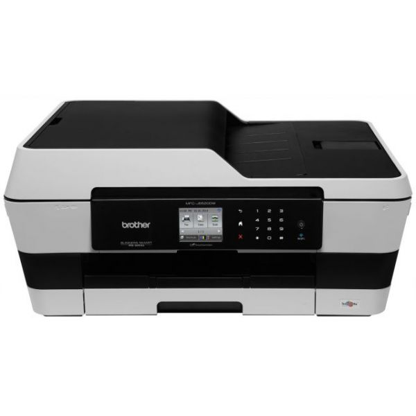 Brother Business Smart MFC-J6520DW Inkjet Multifunction Printer - Color - Plain Paper Print - Desktop