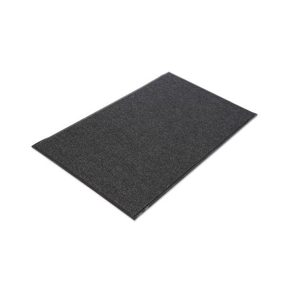 Crown Marathon Wiper/Scraper Mat, Polypropylene/Vinyl, 48 x 72, Anthracite