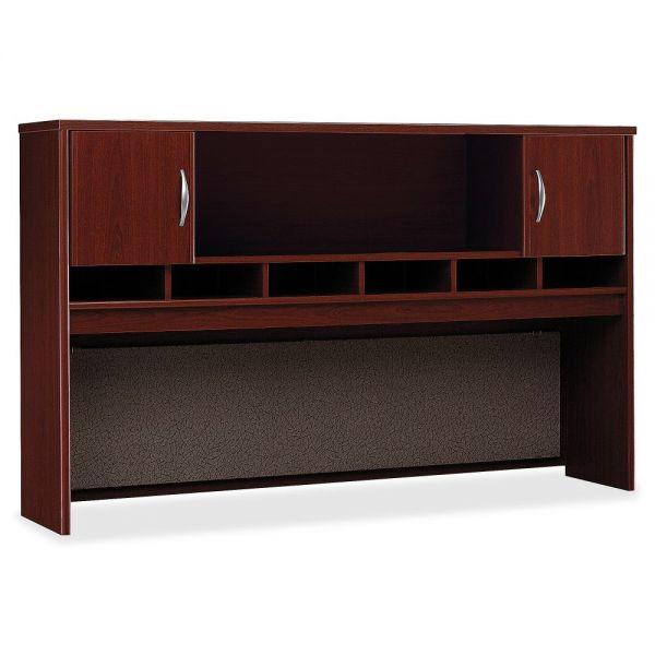 Bush Business Furniture Series C Mahogany 72W 2-door Hutch