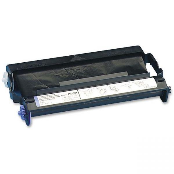 Brother PC301 Thermal Transfer Print Cartridge, Black
