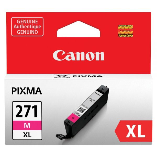 Canon CLI-271 High Yield Magenta Ink Cartridge (CLI271XLM)