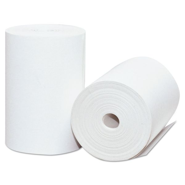 "PM Company Direct Thermal Printing Thermal Paper Rolls, 2 1/4"" x 75 ft, White, 50/Carton"