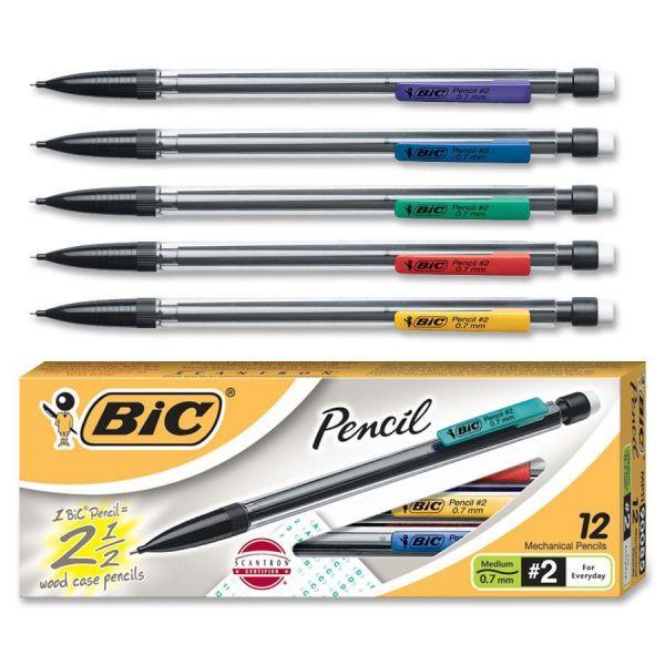 BIC Xtra Life 0.7 Mechanical Pencils